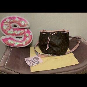Custom Pink Petite LV Noe